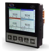Регистратор многоканальный для щитового монтажа Д-ИТ-4АT08-4СК08-4Э3А-RST-USB-H3-TFT3 фото