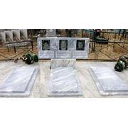 Надгробие групповое мрамор фото