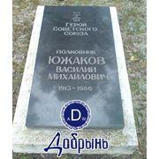 Надгробная плита. Габбро Букинского месторождения