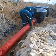 Прокладка сетей тепловых, водоснабжения и канализации. фото