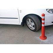 Парковочный столбик, столбик разделительный гибкий фото
