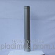 Труба 1 м 0,8мм ф110 из нержавеющей стали фото