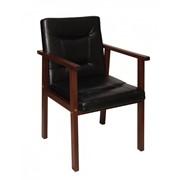 Кресло руководителя, офисное деревянное кресло. Цена от производителя фото