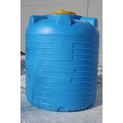 Емкость пластиковая цилиндрическая вертикальная 5'000 литров фото