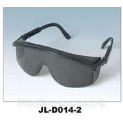 Очки защитные арт. JL-D014-2 открытого типа темные фото