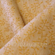 Ткань скатертная Цвет 120 рисунок Гилочка фото