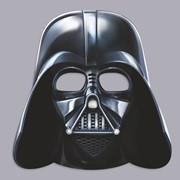 Маскарадная маска Дарт Вейдер, Звёздные войны, картон фото