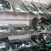 Мойки кухонные из нержавеющей стали фото