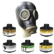 Противогазы промышленные фильтрующие ПФМГ с ШМП с фильтром Е2К1СО фото