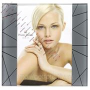 Стеклянная рамка для фотографии 10х15, фоторамка, LIGHT GF 2517 фото