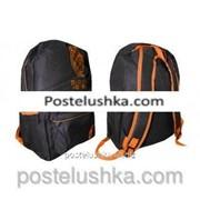 Ранец городской CONVERSE GA-1303 черно-оранжевый фото
