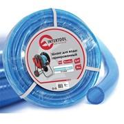 """Шланг для воды 3-х слойный 3/4"""", 30 м, армированный PVC INTERTOOL GE-4075 фото"""