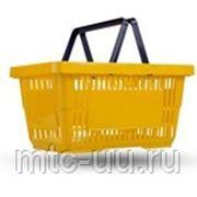 Корзина покупательская пластиковая SBP20-RD фото