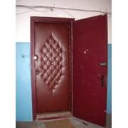 Обивка дверей. Утепление дверей в Омске фото