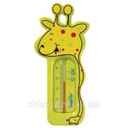 Термометр для ванны жираф фото