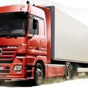 Окажем услуги по перевозке грузов грузовыми автомобилями. фото