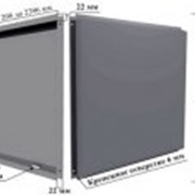Фасадная кассета Classic 1 146x1 146м 0,7мм полиэстер фото