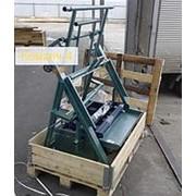 Станок для производства шлакоблоков, пескоблоков Команч-4. Вибростанок фото