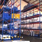 Монтаж вентиляция для складов. фото