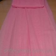 Тюль, шифон однотонный розовый 103(3) фото