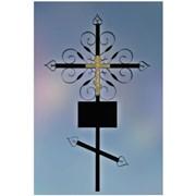 Изготовление и установка крестов фото