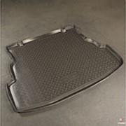 Коврик в багажник Renault Symbol 2009-2012 (полиуретановый с бортиком) фото