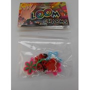 Набор шармиков для плетения браслетов LOOM 8 шт. LMB-006 фото