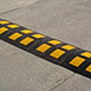 ИДН300 (искуственная дорожная неровность) средний сегмент желтый фото