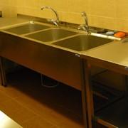 Оборудование моечное пищевое. Ванны моечные. фото