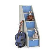 Комод детский ПМ: Моби Тетрис 1 308 лестница ступеньками фото