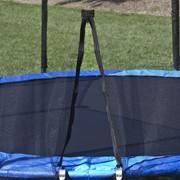 Батуты для детей 244 см. с защитной сеткой и лесенкой. Макс Про фото
