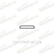 Нащельник, кедр, сорт Экстра (30 * 6 * 2500 мм) фото
