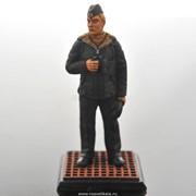 Оловянная миниатюра Офицер-подводник фото