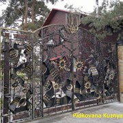 Кованые Ворота, калитки. фото