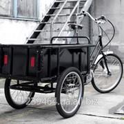 Велосипед грузовой фото