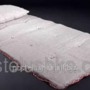 Льняные матрасы Футон с льняной тканью 80х190 см фото