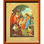 Икона аналойная малая Благословение детей фото