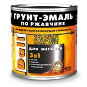 Грунт-эмаль по ржавчине DALI 3 в 1 фото