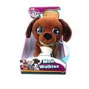 IMC Toys Club Petz Щенок Mini Walkiez Chocolab интерактивный, ходячий, со звуковыми эффектами (99869) фото