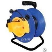 Удлинитель на катушке ПВС2х1,5 50 м для газонокосилки фото