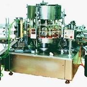 Машина автомат роторного типа универсальная этикеточная фото