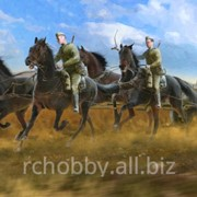 Модель Soviet Regimental Artillery Horse Transport фото