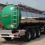 Полуприцеп-цистерна - ППЦ-20 для перевозки пищевых жидких продуктов фото