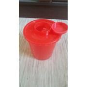 Контейнер безопасной утилизации (КБУ) 1 литр фото