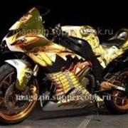 "Вафельная картинка ""Мотоцикл № 1 "" фото"