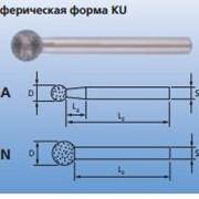 Алмазные шлифовальные головки Сферическая форма KU фото