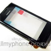 Сенсорный экран Nokia 500 черного цвета фото