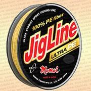 Плетенка JigLine Ultra PE 100 м, желтый 0,05 мм тест 4 кг фото