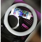 26 см кольцо светодиодное с держателем для телефона фото