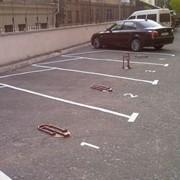 Разметка паркингов фото
